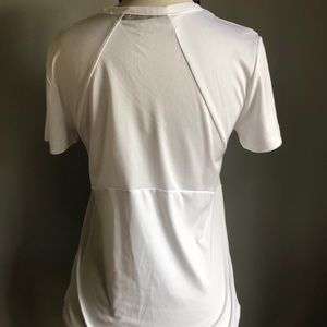 Reebok Tops - Reebok Play Dry Short Sleeve White Size M EUC